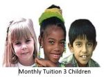 Tuition Fee Monthly 3 Children