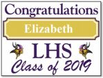 Class of 2019 Yard Sign