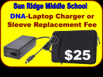 DNA-Charger/Sleeve Replace Fee