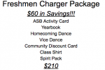 Freshman Charger Package