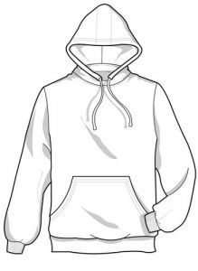 Index on dress shirts drawing