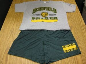 SCHOFIELD MIDDLE SCHOOL in Las Vegas NV | PE CLOTHES SET | Online School Store